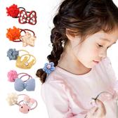 兒童髮飾 羊羔球小皮筋髮圈女童頭飾寶寶髮帶-JoyBaby