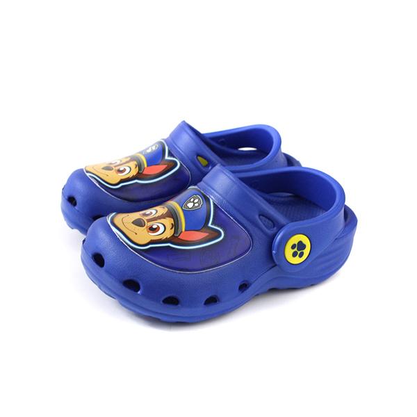 PAW PATROL 狗狗 汪汪 涼鞋 布希鞋 童鞋 藍色 中童 D93901-550 no014