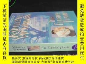 二手書博民逛書店THE罕見ELUSIVE FLAME5919