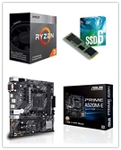 AMD R3 3200G + 華碩 PRIME A520M-E/CSM + Intel 660P 256G M.2 SSD(工業包裝)【刷卡含稅價】