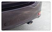 【車王小舖】Toyota 2014 YARIS L 橢圓管 帶網 魚鰭排水槽 尾飾管 尾管 排氣管 尾喉 加厚