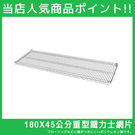 【J0026-A】180X45重型層架網板單片(附夾片) MIT台灣製收納專科