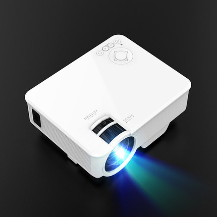 迷你投影儀 家用辦公高清智能一體wifi無線微小型投影家庭影院無屏電視2020新款【快速出貨】