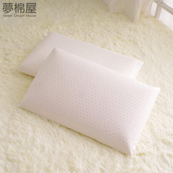 100%純天然蜂巢氣孔平面乳膠枕 一入/夢棉屋