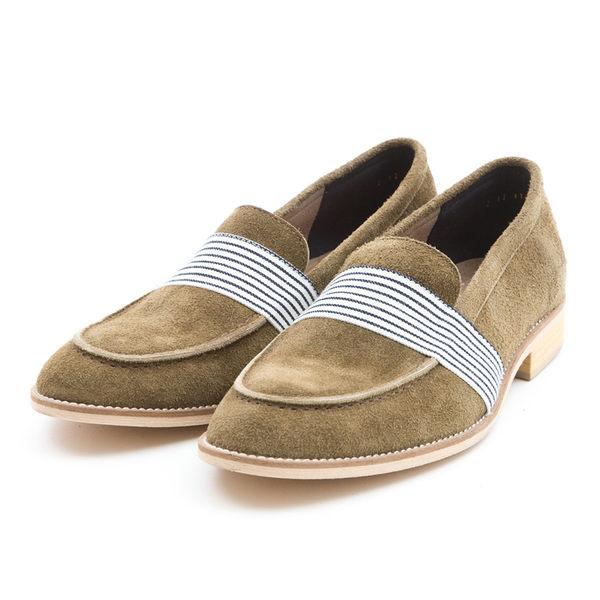 日本都會雅痞紳士樂福鞋#31111墨綠 -ARGIS日本製手工皮鞋