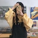 吊帶裙 學院風洋裝秋裝2019年新款女裝減齡小個子吊帶裙裙子長袖襯衫潮 彩希精品