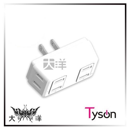 ◤大洋國際電子◢ 太順電業 TS-004B D型4座高耐熱防火分接式插座 轉接插頭 插座 2孔插座