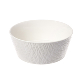 海薇波紋多用碗20cm 白