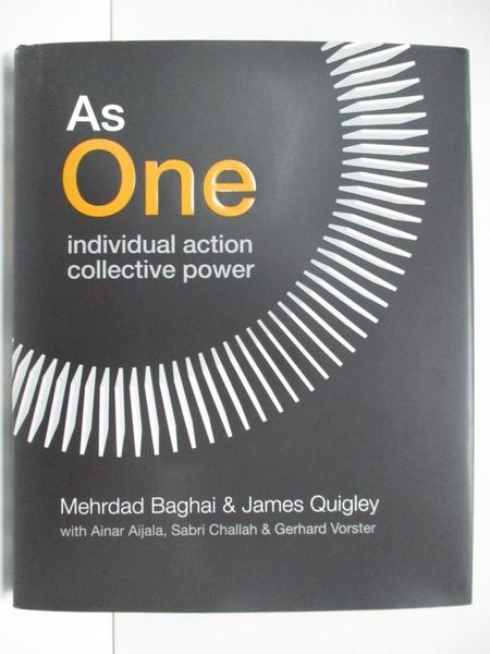 【書寶二手書T1/大學商學_DJ2】As One: Individual Action, Collective Power_Baghai
