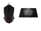 MSI 微星 DS B1  GAMING 電競滑鼠+ GAMING Shield  電競滑鼠墊