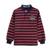 『小鱷魚童裝』英國風條紋POLO衫(08號~18號)532102