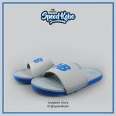 NEW BALANCE  灰藍 拖鞋 大LOGO 基本款 男 M3068GBL【Speedkobe】