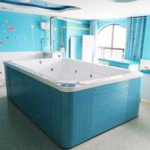泳池 嬰兒童游泳館全套設備商用恒溫寶寶衝浪浴缸超大洗澡亞克力游泳池 夢藝家