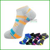 線形加壓運動襪(慢跑踝襪/襪子/慢跑襪/足弓襪/氣墊襪/機能襪/台灣製造)