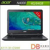 acer A111-31-C5HH 11.6吋 N4000 HD Win 10 S 黑色筆電-送64GB隨身碟(6期0利率)