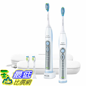 [107美國直購] Philips Sonicare Flexcare Whitening Edition Toothbrush with Charging Travel Case A1952050