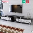 小戶型鋼化玻璃櫃茶幾組合套裝簡易現代簡約機櫃客廳地櫃 星河光年DF