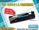 HP Q6000A/Q6001A/Q6002A/Q6003A 藍色環保碳粉匣→1600/2600n/2605n/CM1015/CM1017