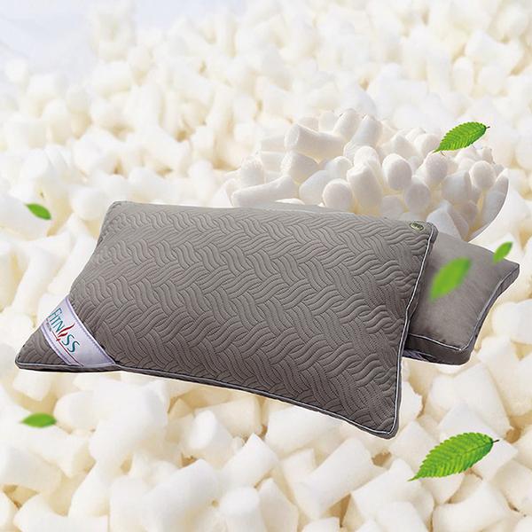 【FITNESS】麂皮顆粒乳膠QQ透氣枕(1顆)