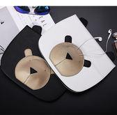 新款ipad air2保護套air3平板mini2/4耳機熊iPad保護殼【韓衣舍】