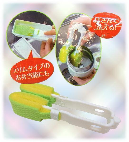 【波克貓哈日網】日本製 便利商品◇清潔刷系列◇《可夾式&角落清潔》