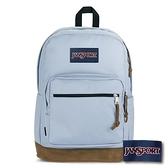 【南紡購物中心】【JANSPORT】RIGHT PACK 後背包(單邊水壺側袋款) - 薄暮藍(JS-43972)