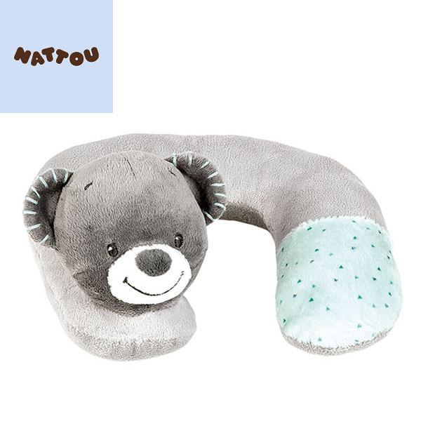 比利時 NATTOU 絨毛動物造型護頸枕 S 吉爾斯
