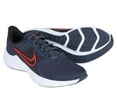 NIKE Downshifter 11 男款 藍色 輕量 運動 慢跑鞋 CW3411400