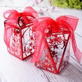 結婚糖果禮盒歐式喜糖盒子裝煙透明創意