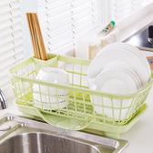◄ 生活家精品 ►【J178】多功能置物瀝水架 清潔 瀝乾 防菌 廚房 碗盤 筷子 湯匙  餐具