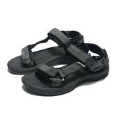 AIRWALK 涼鞋 黑 幾何線 魔鬼氈 織帶 輕量 減壓 男 (布魯克林) A825230220