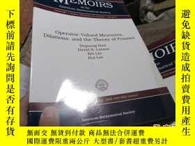 二手書博民逛書店operator-valued罕見measures dilati