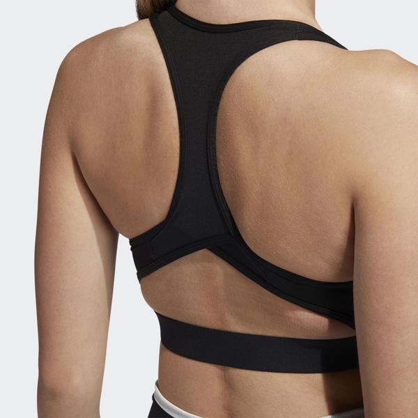 ADIDAS DON'T REST 女裝 運動內衣 慢跑 健身 訓練 排汗 透氣 中等支撐 黑【運動世界】EA3298