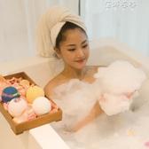 (免運)網紅泡澡球泡泡浴球爆炸花泡泡浴芭浴鹽球沐浴球泡澡氣泡彈