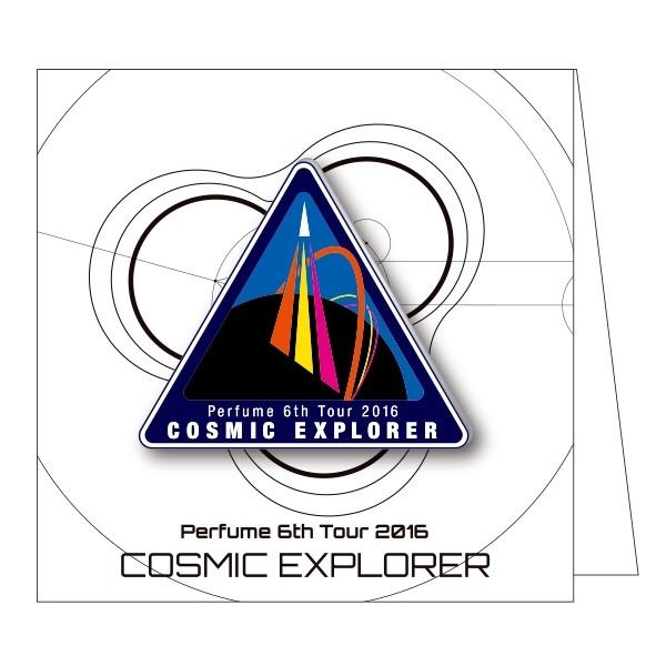 Perfume 6th Tour 2016「COSMIC EXPLORER」-標誌徽章