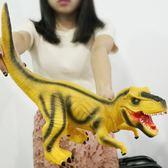恐龍玩具仿真動物霸王龍模型侏羅紀世界兒童玩具男孩     古梵希DF