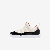 Nike Jordan 11 [BQ7101-108] 中童鞋 運動 休閒 輕量 緩震 舒適 免鞋帶 喬丹 穿搭 米白黑