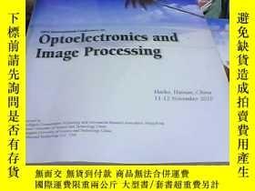 二手書博民逛書店Optoelectronics罕見and Image proce