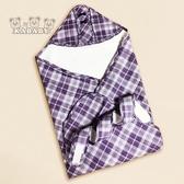 【金安德森】KA棉質細緻格紋包巾(春夏款)