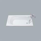 《修易生活館》HCG和成 壓克力浴缸 F2485 (不含水龍頭)新莊跟台中西屯都有店面