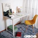 電腦桌 簡易電腦桌台式書桌家用簡約寫字台臨時辦公桌子出租房公寓桌 igo 【全館9折】
