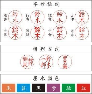 日本shachihata Xstamper寫吉達訂製印章筆 0.9cm 伸縮紅桿TKS-AUSS