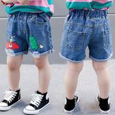 男童單寧牛仔短褲夏夏裝2寶寶1-3歲5兒童6薄款褲子潮童裝-BB奇趣屋
