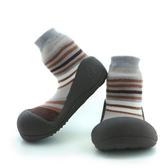 韓國 Attipas 快樂腳襪型學步鞋-時尚咖啡褐