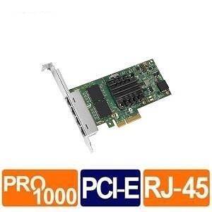 Intel I350-T4V2 1G 四埠RJ45 伺服器網路卡 (Bulk)
