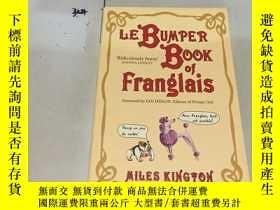 二手書博民逛書店法文原版:LE罕見BUMPER BOOK OF FRANGLAI