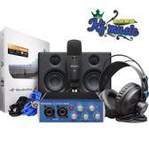 凱傑樂器 PreSonus AudioBox USB 96 Studio 錄音套裝 韓主動式喇叭 公司貨