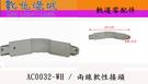 數位燈城 LED-Light-Link【 AC0032-WH 軌道專用兩線軟性接頭 - 白色 】 不受空間限制