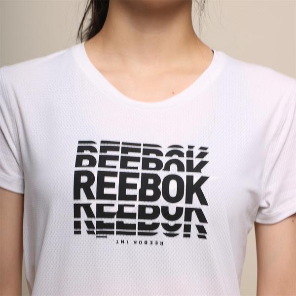 REEBOK 短T 短袖 ACTIVCHILL 白 休閒 女 (布魯克林) FK7097