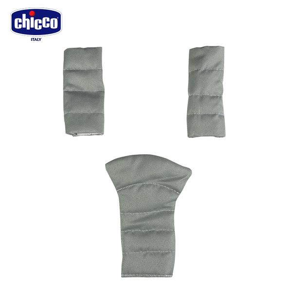chicco-SimpliCity 都會安全帶護套-肩帶/胯部三件組(熱情紅)